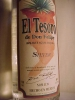 EL TESORO SILVER VERY OLD LABEL ---LAST ONE