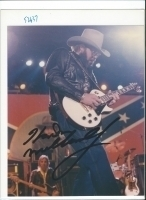 Autographs HANK WILLIAMS JR.