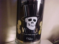 BLACK DEATH VODKA SUPER RARE IN STOCK